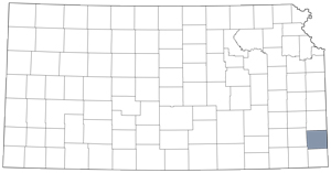Crawford County locator map