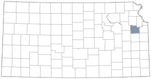 Douglas County locator map