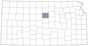 Lincoln County locator map
