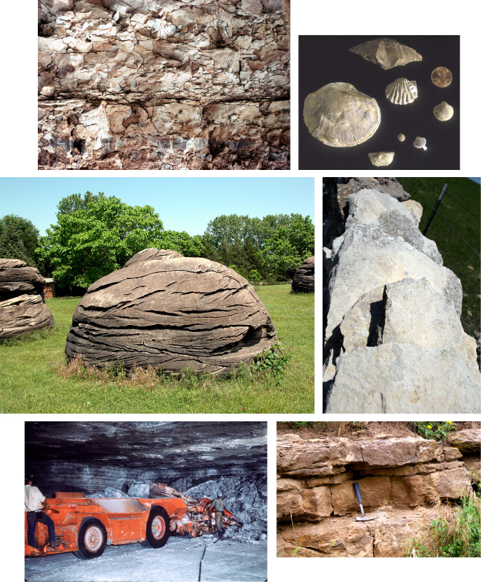 Rocks, minerals, and fossils of Kansas